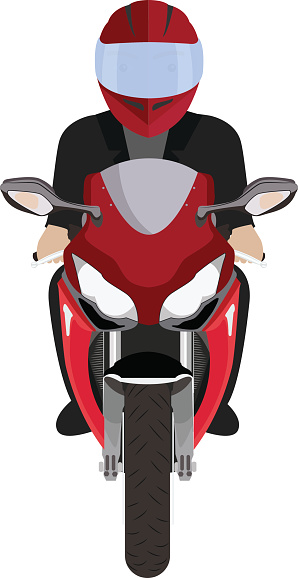Bike clipart front view Image Vector Art Cliparts Front