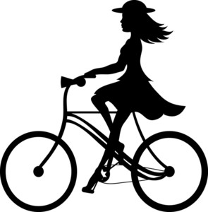 Bike clipart her Ilustration of a Clipart