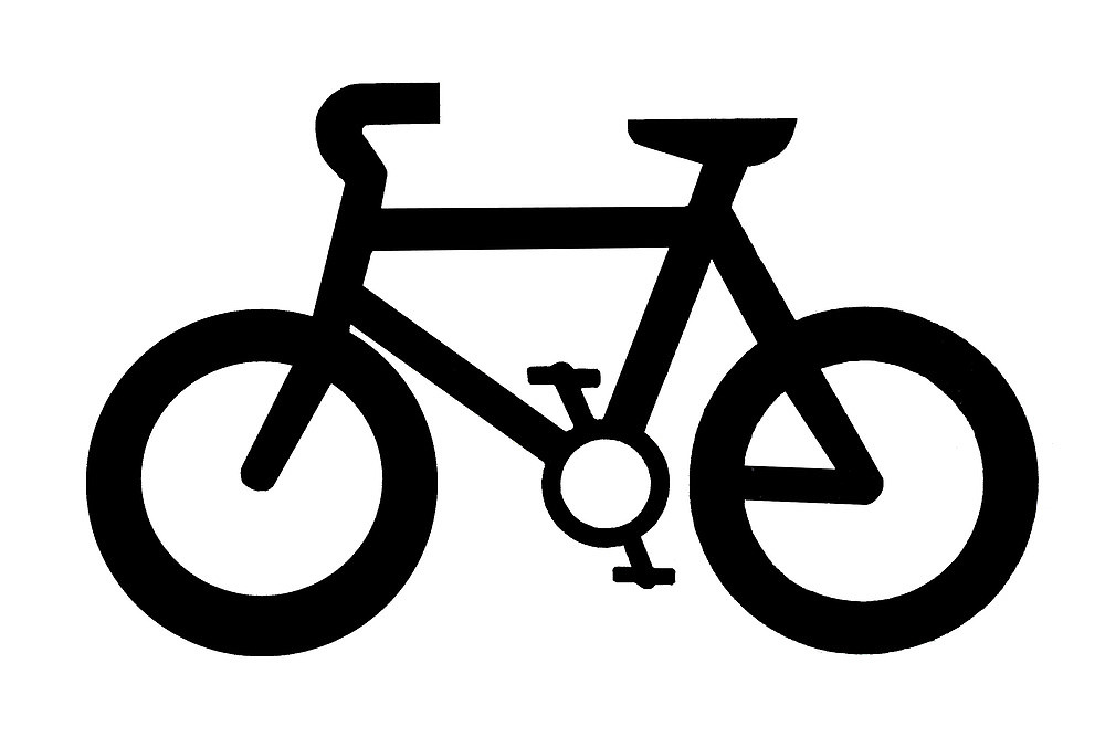 Bicycle clip naturaldigital clip Redbubble