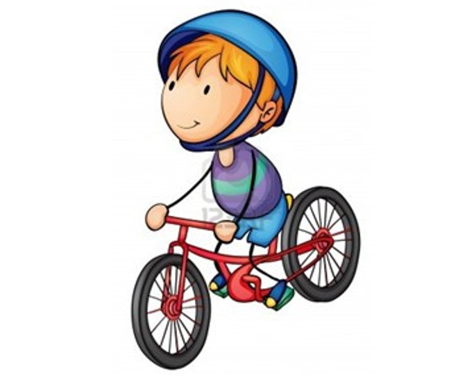 Bike clipart preschool #7