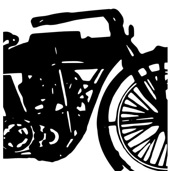 Bike clipart vintage motorbike Clip free  2 Free