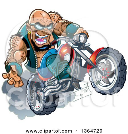 Biker clipart animated A Biker: of  free