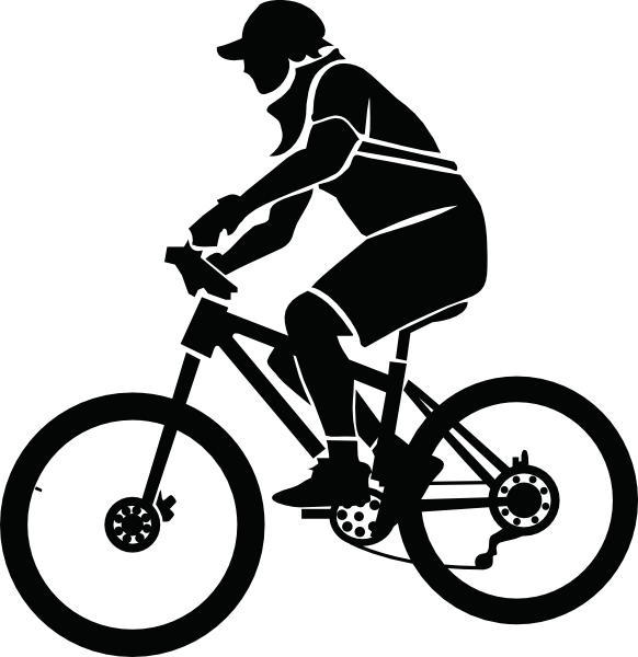 Biker clipart cycle Vector art Free Biker clip