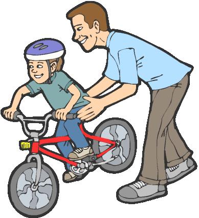 Bicycle clipart training wheel Wheels Skipping Skipping the Biker