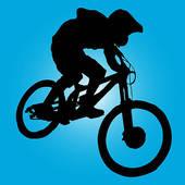 Bike clipart mountain biking GoGraph Art life biker Bike