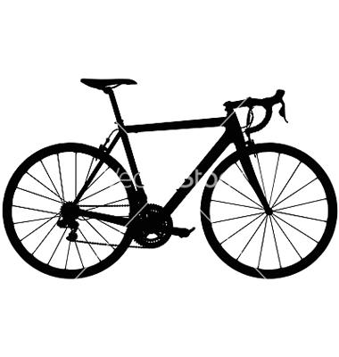 Biker clipart road cycling Bike Clipart Clipart Road Silhouette