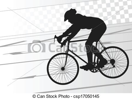 Biker clipart road cycling Bicycle bike bicycle silhouette EPS