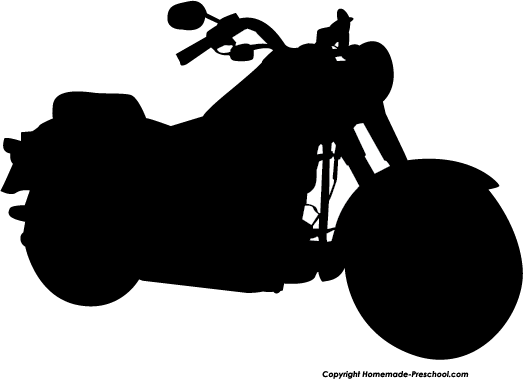 Motorcycle Clipart Silhouette Ipad Clipart