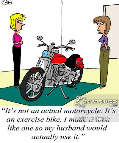 Biker clipart stationary bike Adventure wheels  life two