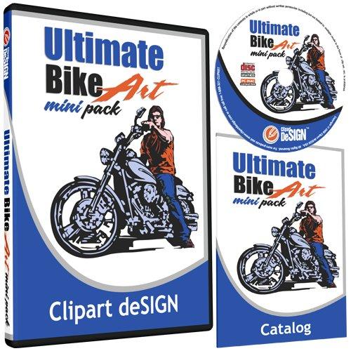 Biker clipart vector Graphics Biker Vinyl Motorcycle Plotter