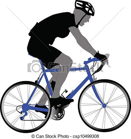 Biker clipart vector Vector vector Clipart biker of