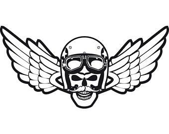 Biker clipart wing Tattoo Shop Outlaw #8 Biker