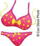 Bikini clipart White A Clipart 490