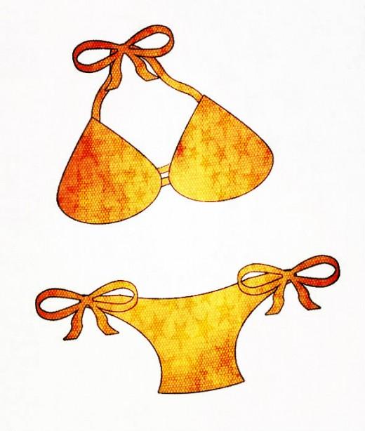 Bikini clipart Free Summer Art on Art
