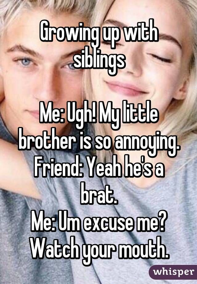 Bikini clipart annoying little brother Quotes annoying Brother Friend 20+