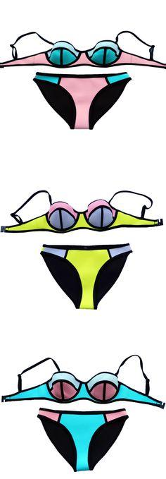 Bikini clipart swimwear Floral Swimwear pattern tie bright
