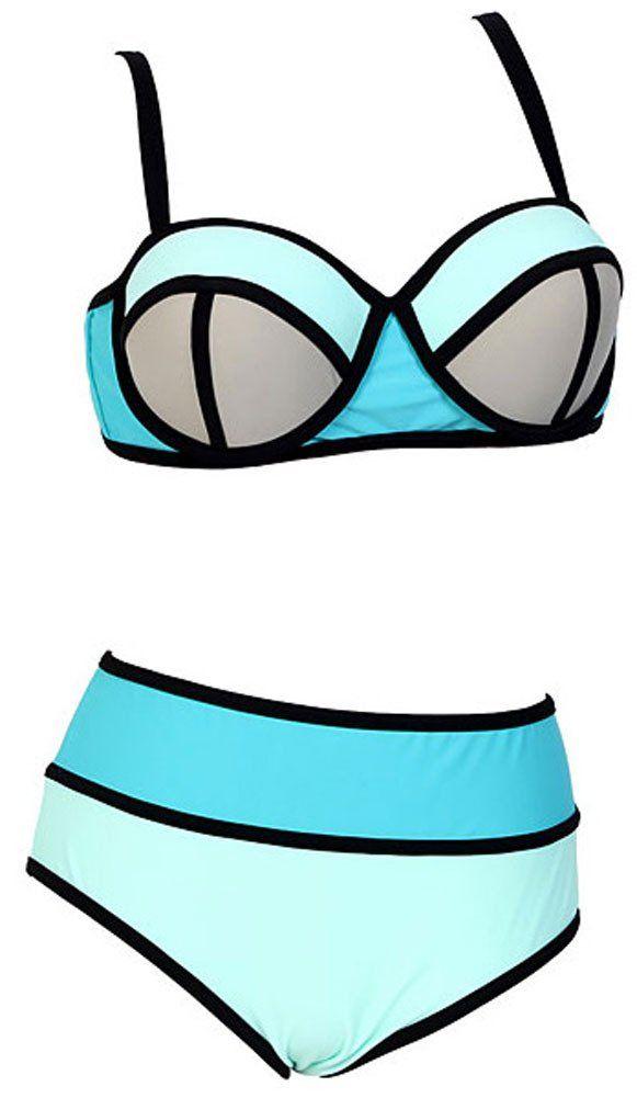 Bikini clipart swimwear Bikini Waisted Swimsuit Clothing up