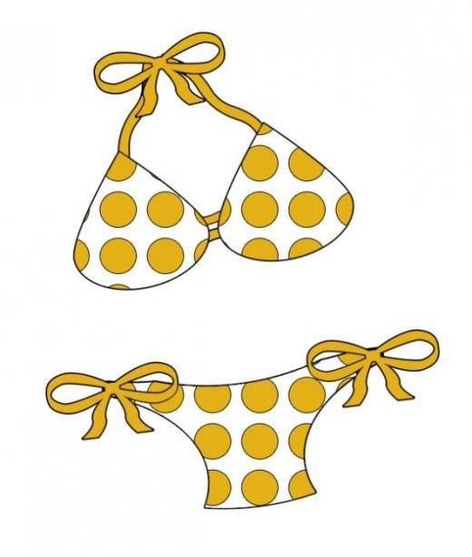 Bikini clipart swimwear & Clip More Beach Summer