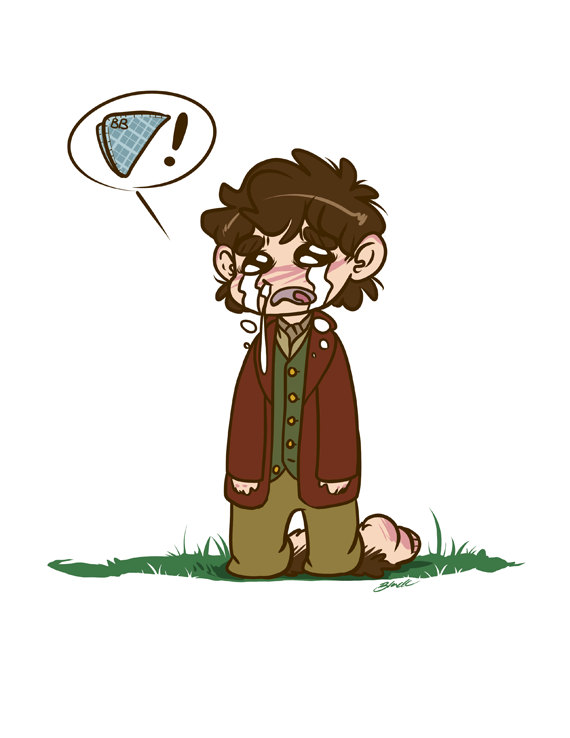 Bilbo Baggins clipart This Bilbo fanart Handkerchief The