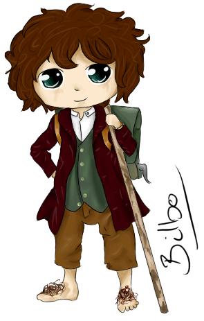 Bilbo Baggins clipart Hobbit: Baggins Bilbo DeviantArt BloodiedHeart