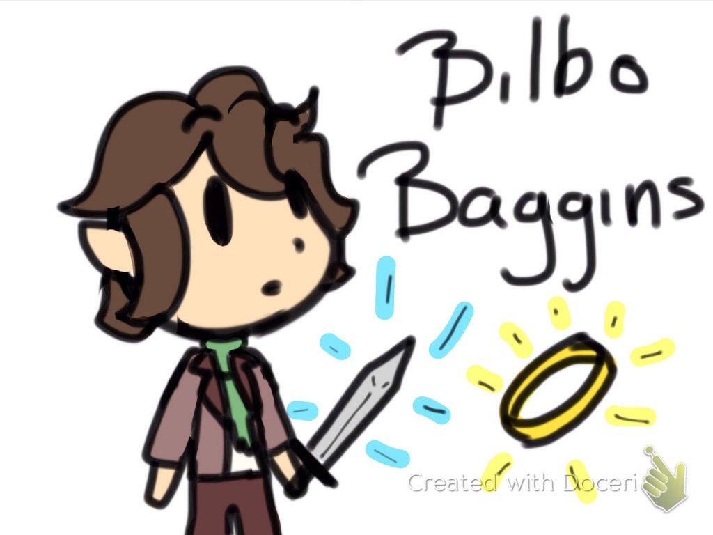 Bilbo Baggins clipart Baggins by by Bilbo Baggins