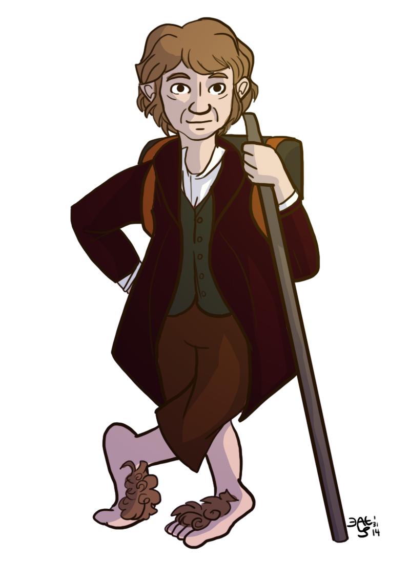 Bilbo Baggins clipart Baggins clipart fairytale Collection Dwarf
