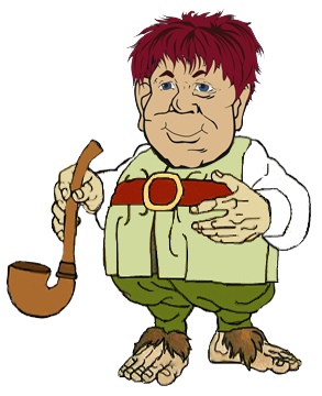 Hobbit clipart cartoon Baggins Bilbo Baggins