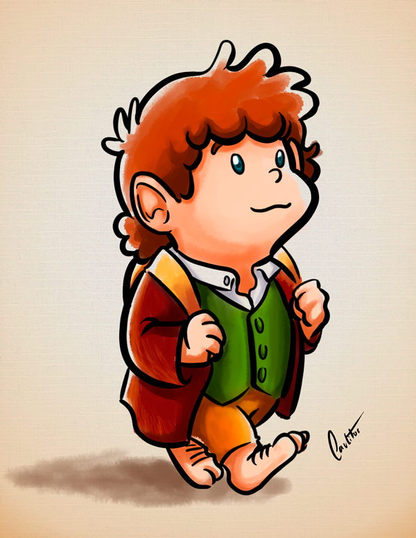 Bilbo Baggins clipart Drawing tolkien OCarlitos Baggins OCarlitos