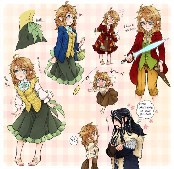 Bilbo Baggins clipart bilba Not Too Genderbent Too Too