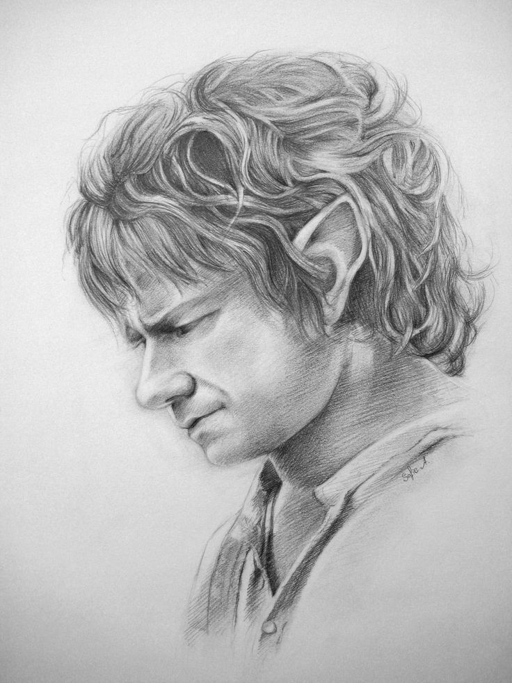 Bilbo Baggins clipart black and white About by the Baggins on
