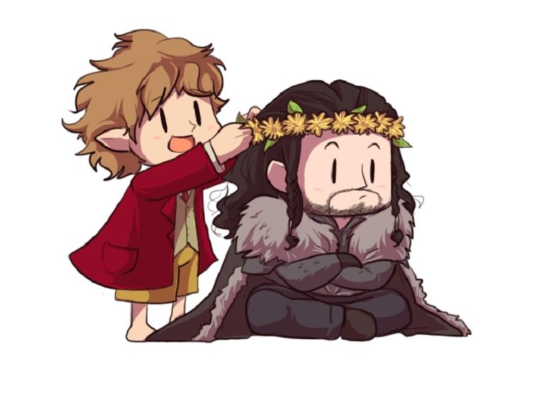 Bilbo Baggins clipart chibi Pinterest Thorin and Dibujo Friendship