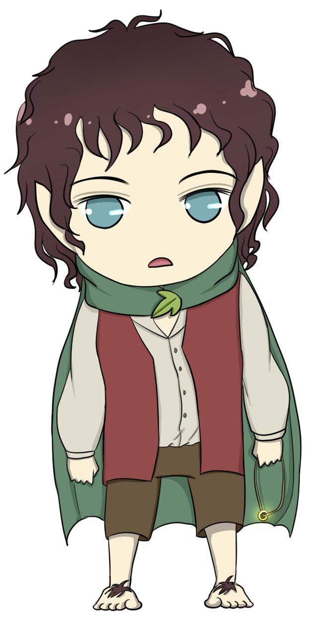 Bilbo Baggins clipart chibi On Frodo Frodo DeviantArt by