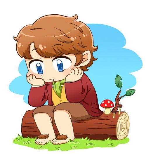 Bilbo Baggins clipart chibi Images Favorites Favorites Chibi on