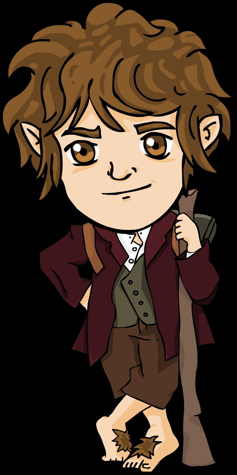 Bilbo Baggins clipart chibi Clip Bilbo The – Art