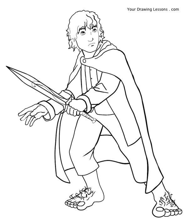 Bilbo Baggins clipart frodo baggins Drawing  Your Lord Frodo