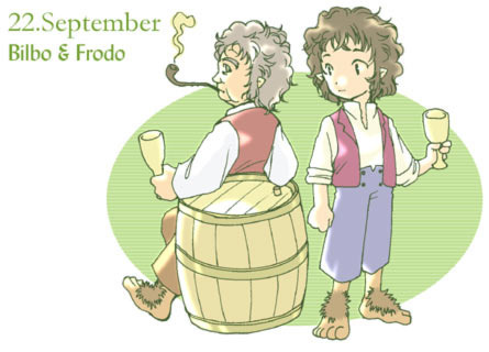 Bilbo Baggins clipart frodo baggins Some Frodo manga Along in
