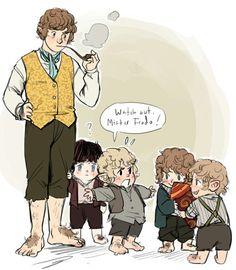 Bilbo Baggins clipart frodo baggins Lord of Pixiv Rings The