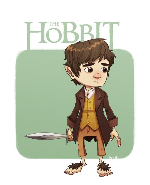 Bilbo Baggins clipart gandalf Might to Hobbit  and