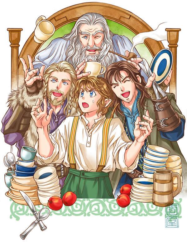 Bilbo Baggins clipart gandalf MENDOU by Hobbit