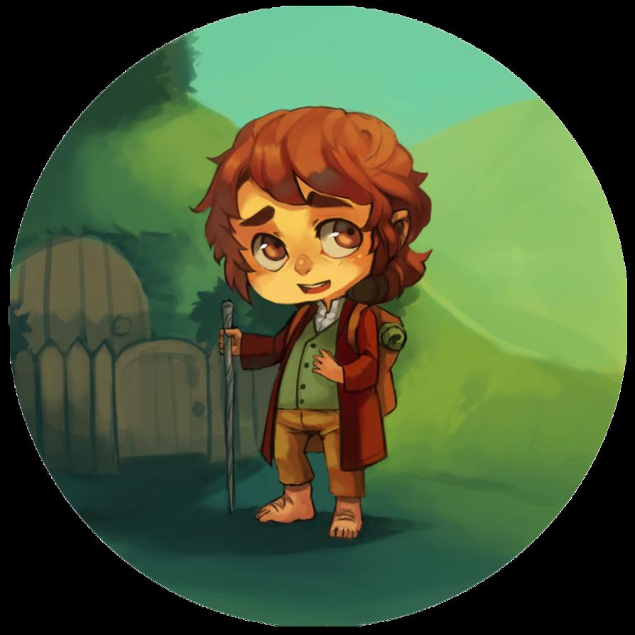 Bilbo Baggins clipart hobbit The – Art Download Clip