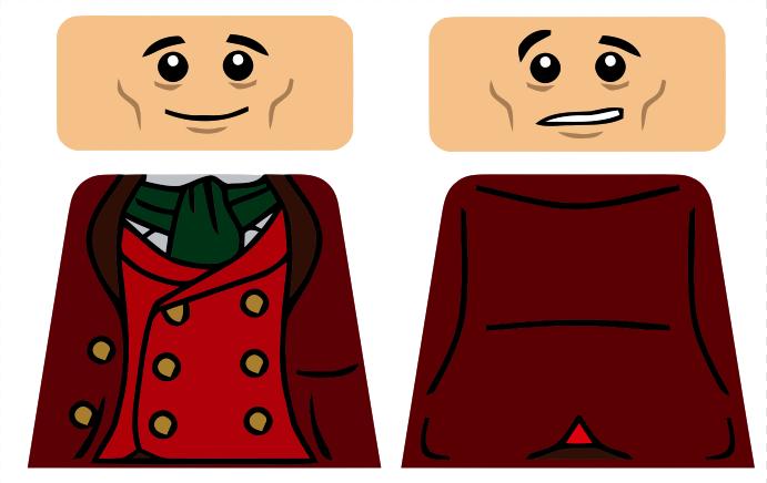 Bilbo Baggins clipart lego figure Bilbobaggins Customisation png design Workshop