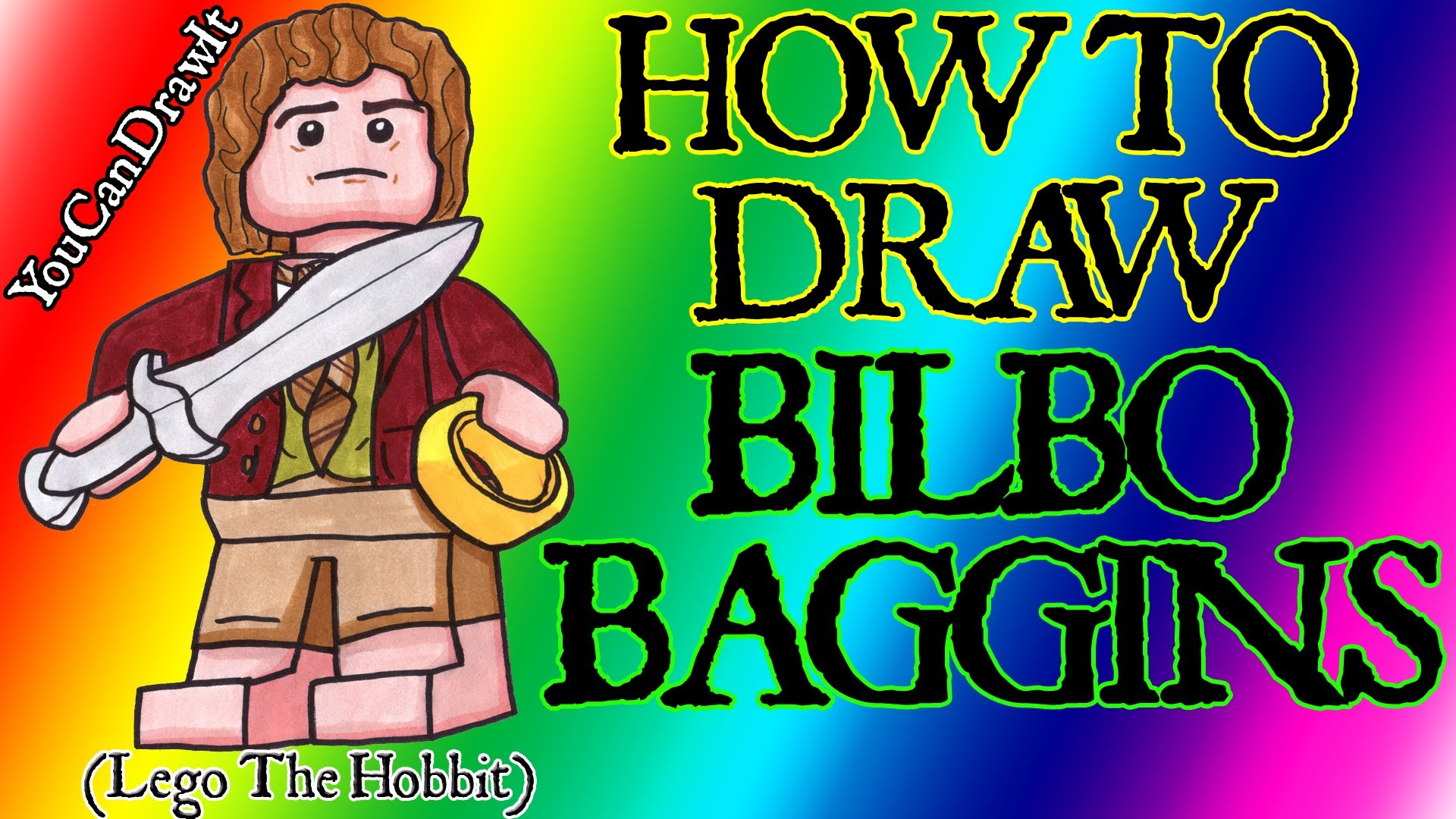 Bilbo Baggins clipart lego figure From ✎ Baggins  of