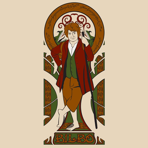 Bilbo Baggins clipart lord the ring Nouveau Bilbo Archives shirt the