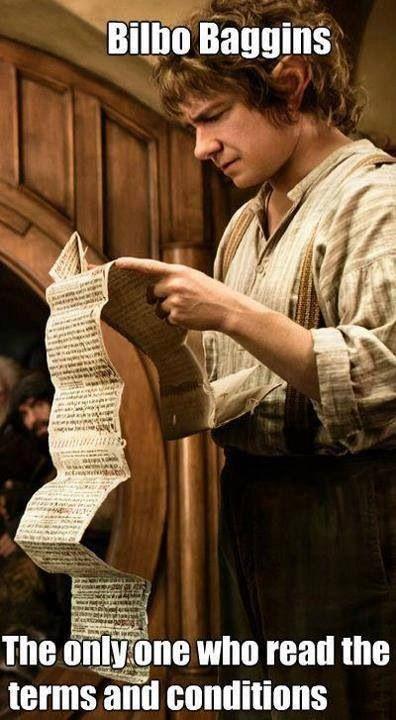 Bilbo Baggins clipart wood stick Read the Bilbo The on