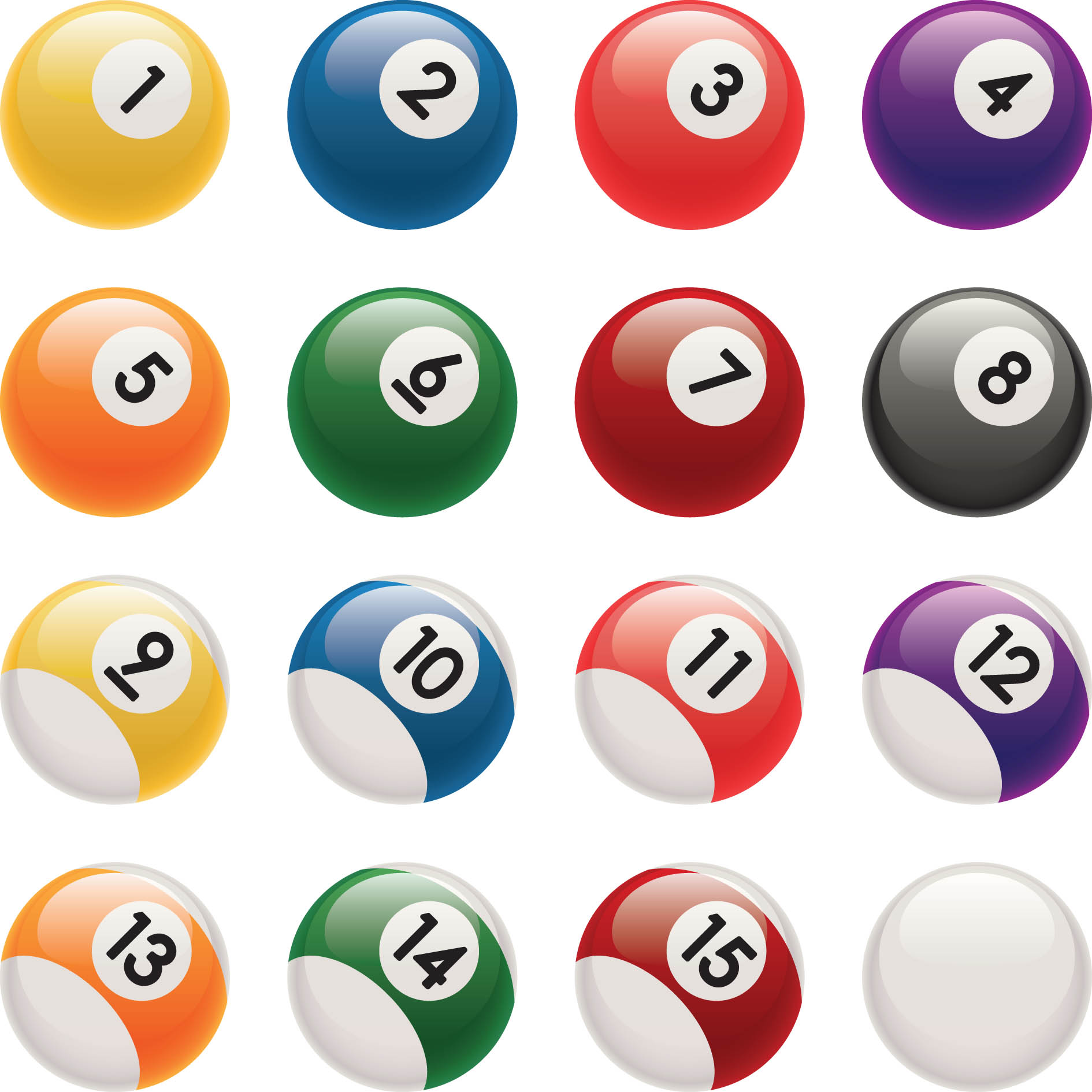 Billiard Ball clipart Billiards Black clipartclipart white ball