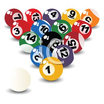 Billiard Ball clipart color number Pool Billiards ball Ball Clip