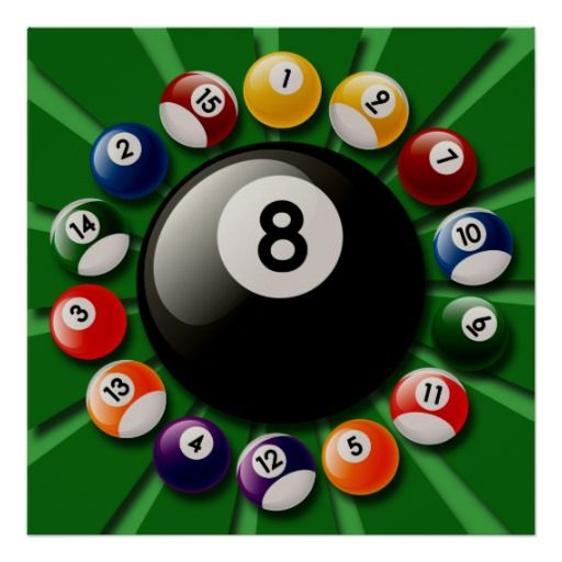 Billiard Ball clipart pool tournament Images The It Ball Game~8