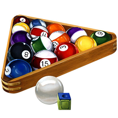 Billiard Ball clipart rack John Pool Scroll over is