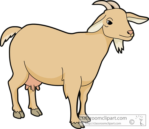 Mountain Goat clipart kid goat #3