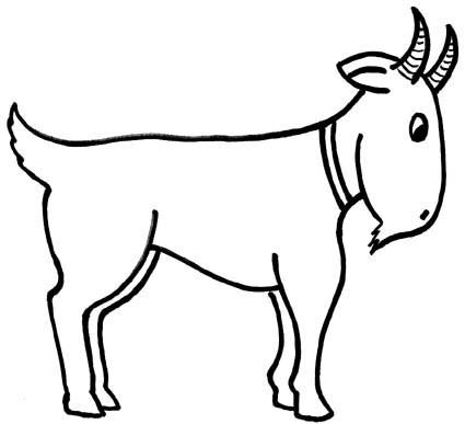 Drawn goat craft Goat Clipart Art Goat Images